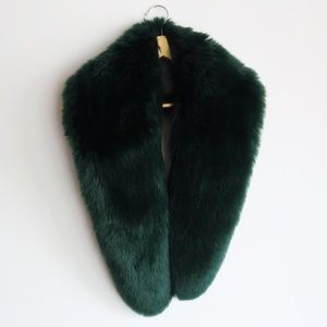 Anthropologie Faux Fur Stole